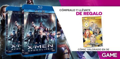X-Men Apocalipsis en Blu-Ray