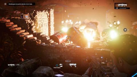 análisis gears of war 4 explosiones