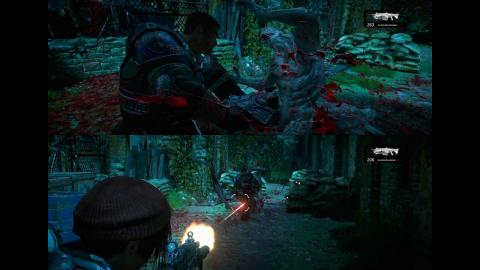 Análisis Gears of War 4 pantalla partida