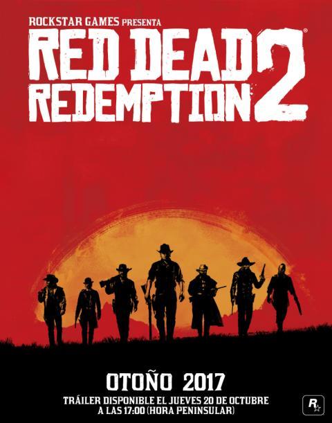 Cartel oficial de Red Dead Redemption 2