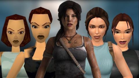 Evolución de Lara Croft en Tomb Raider