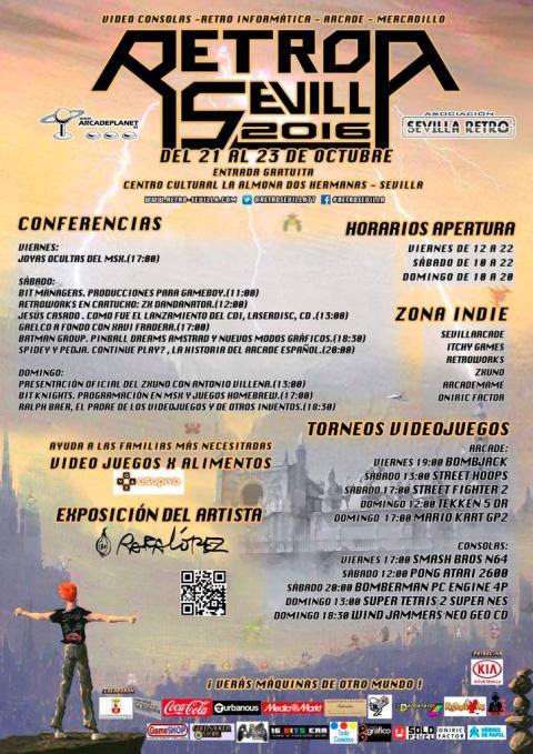 Retro Sevilla 2016 - Programa