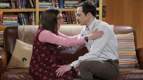 Amy y Sheldon - The Big Bang Theory