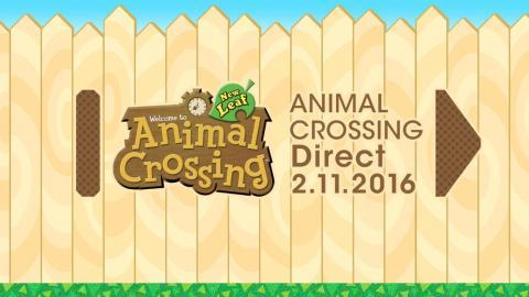 Animal Crossing Direct