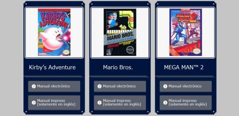 Descarga los manuales de los juegos de Nintendo Classic Mini NES