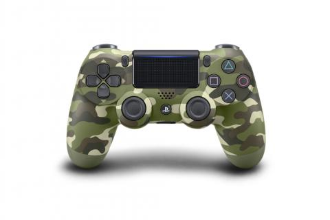 DualShock 4 de camuflaje verde
