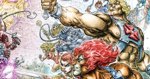 He-Man y los Thundercats crossover