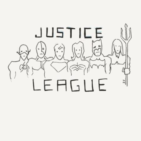 La Liga de la Justicia - Imágenes de la mansión de Batman y Aquaman