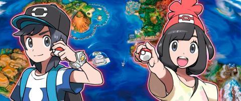 Pokémon Sol y Luna Principal