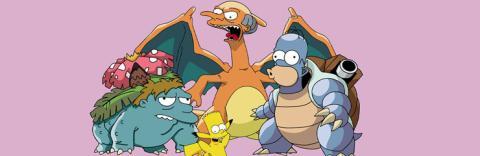 Simpsons + Pokémon