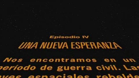 Star Wars Texto Inicial