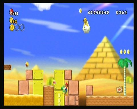 New Super Mario Bros  Wii - Mundo 2 - Guías y trucos en