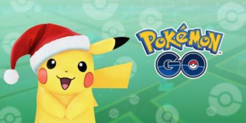 Pokemon Go Raichu navideño