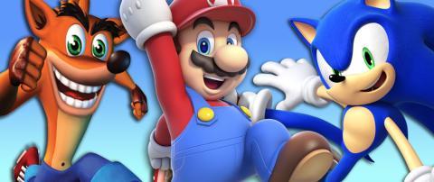 Principal Mario Crash Sonic