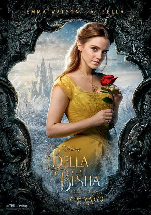 La Bella y la Bestia - Pósters individuales de los personajes