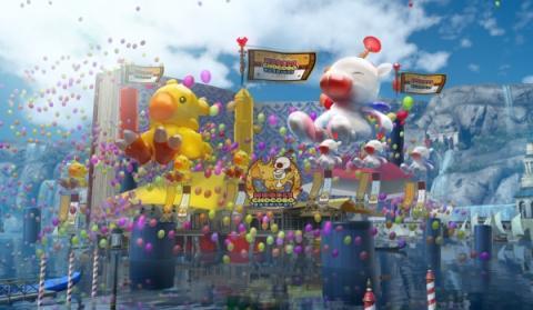 Carnaval de los Moguris y los Chocobos de Final Fantasy XV
