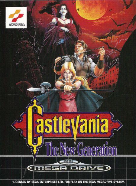 Castlevania: The New Generation Mega Drive