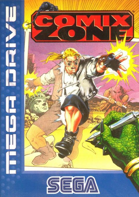 Comix Zone Mega Drive