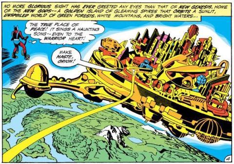 El Cuarto Mundo de Jack Kirby - Review del volumen 1