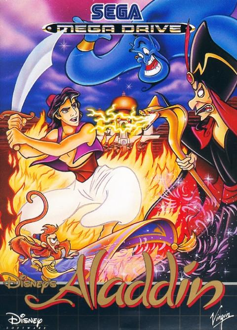 Disney's Aladdin Mega Drive