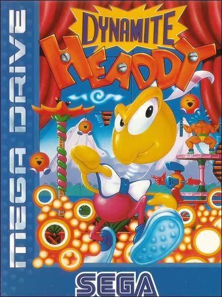 Dynamite Headdy Mega Drive
