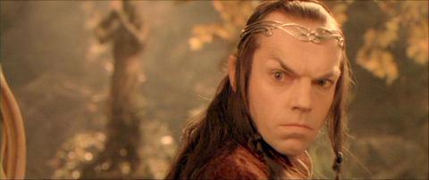 El Señor de los Anillos - Una abuela llevaba años rezando a una figurita de Elrond