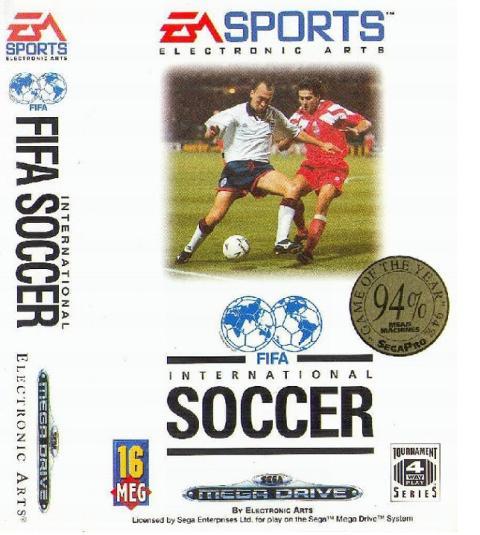 FIFA International Soccer Mega Drive