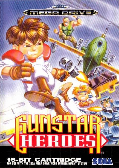 Gunster Heroes Mega Drive