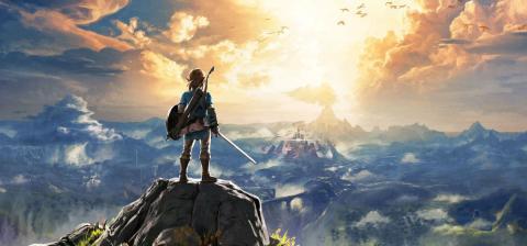 Zelda Breath of the Wild Nintendo Switch