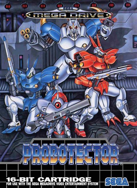 Probotector Mega Drive