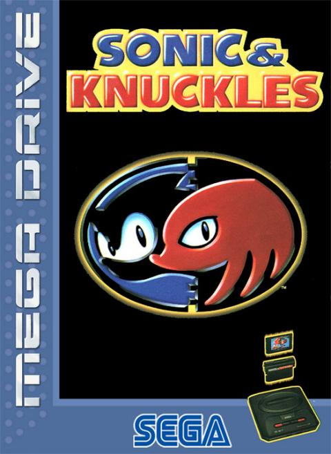 Sonic & Knuckles Mega Drive