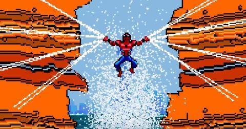 Spider-Man: Homecoming - Tráiler en 8 bits