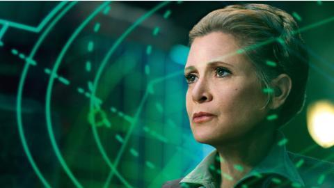 Figura de Star Wars homenaje a Carrie Fisher