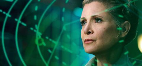 La princesa Leia tiene su figura homenaje
