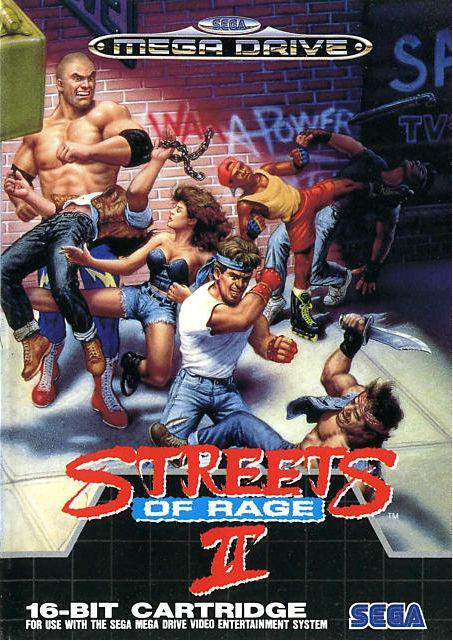 Streets of Rage 2 Mega Drive