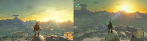 Zelda Breath of the Wild - Comparativa gráfica