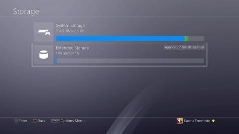 Actualización 4.50 de PS4