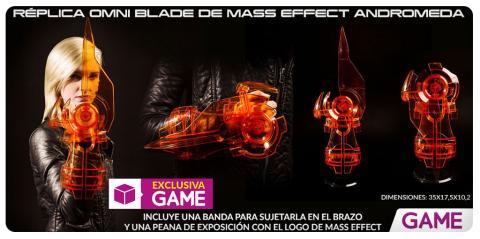Merchandising exclusivo de Mass Effect Andromeda en GAME
