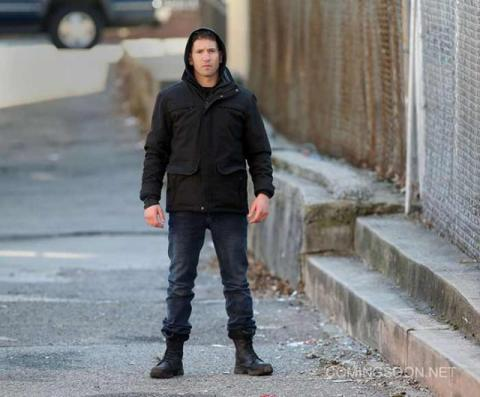 The Punisher - Frank Castle en acción en el set de rodaje