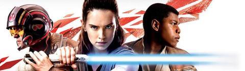 Star Wars: The Last Jedi - Rey, Finn y Poe en el merchandising oficial