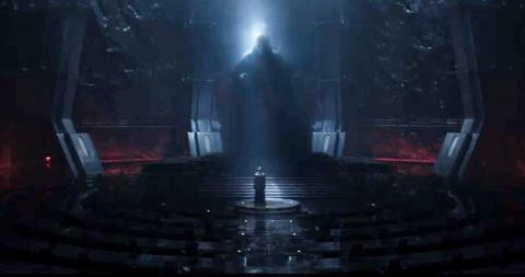 Star Wars - líder supremo Snoke