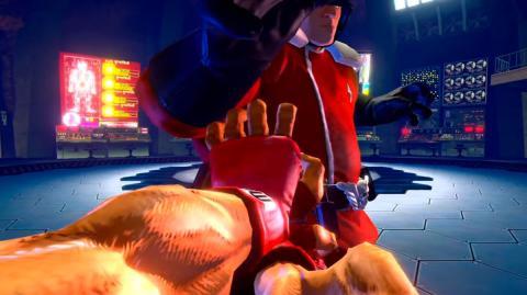 Ultra Street Fighter II The Final Challengers en primera persona