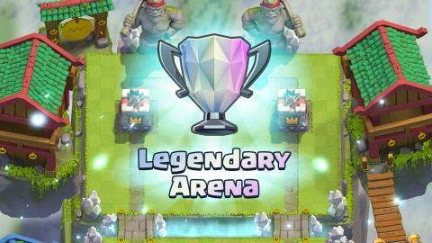 Arena 10 o Legendaria de Clash Royale