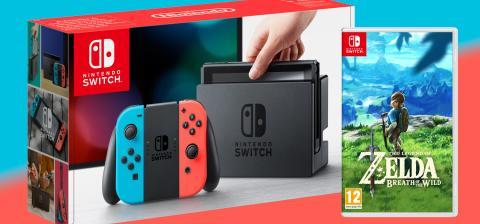 Sorteamos diez Switch con Zelda: Breath of the Wild