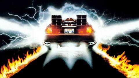 El DeLorean de Regreso al futuro