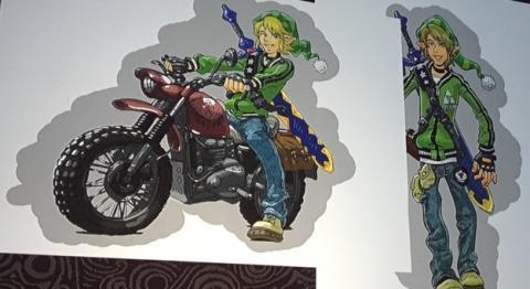 Diseños originales de The Legend of Zelda Breath of the Wild