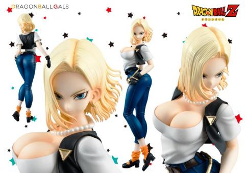 Dragon Ball Gals A-18