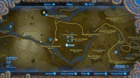 Zelda Breath of the Wild recuerdos