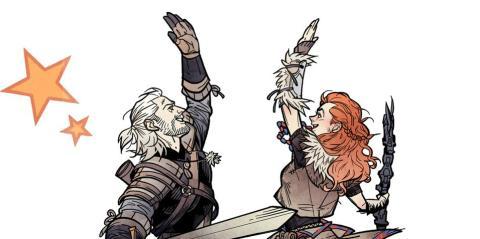 Horizon Zero Dawn - Geralt y Aloy