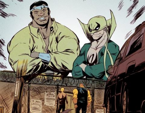 Power Man y Puño de Hierro - Review del regreso de Luke Cage y Iron Fist